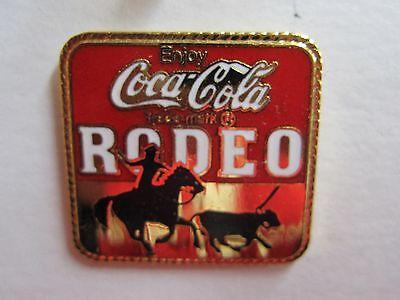 Coca-Cola Rodeo Pin - FREE SHIPPING