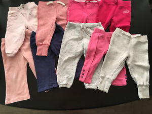 Girls sweatpants size 12-18 months