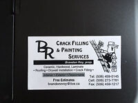 Crackfill & Painting Services also Rooftop snow removal