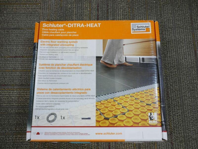 Schluter Ditra Heat Floor Heating Cable 120V 92 Sq Ft DHEHK12092