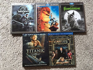 3d movies for sale $15 each!