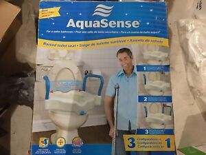 "Aquasense 4"" Raised Toilet Seat"