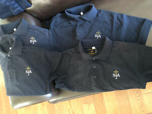 St James the Apostle uniform polo shirts