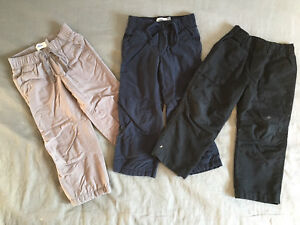 Boys size 3 lined pants