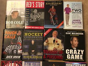 Hockey books make great Christmas gifts!