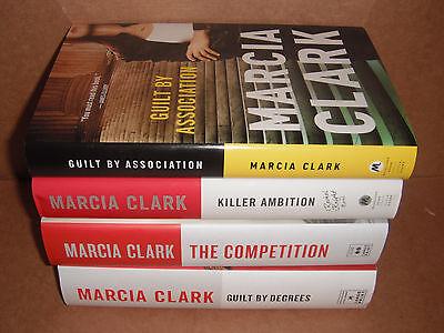 Rachel Knight Novels Lot #1,2,3,4  by  Marcia Clark Hardcover New