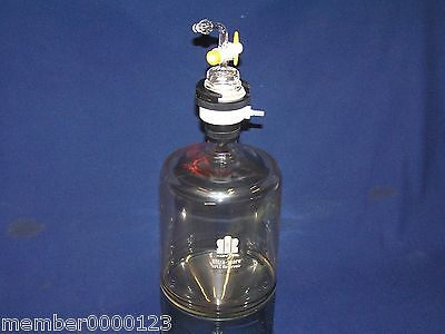 Kontes 5000 Ml Ultra-ware Hplc Reservoir Conical Bottom With Filtration Cap