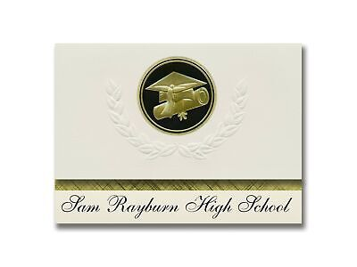 Signature Announcements Sam Rayburn High School (Pasadena, TX) Graduation Ann...