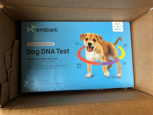 Embark Vet Breed & Health Dog DNA Test Health Kit Breed Ancestry Identification