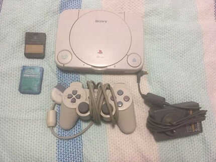 Sony Ps One - 1 controller, 2 x memory cards  Turrella Rockdale Area Preview