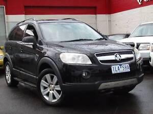 2007 Holden Captiva LX 4x4 Wagon *** DIESEL ** $7,990 DRIVE AWAY Footscray Maribyrnong Area Preview