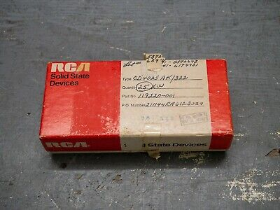Lot Of 21 Pcs Vintage Rca Cd4025ak Flat Pack Ics With Original Box