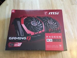 MSI Gaming X RX 580 4Gb Brand New in Sealed Box