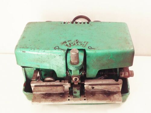 Vtg Foley belsaw model 352 automatic power saw tooth setter machine