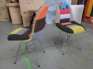 Patchwork dining chairs $99 each Eumemmerring Casey Area Preview