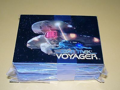 Star Trek VOYAGER - Season ONE - Series ONE -  Complete Trading Card Set