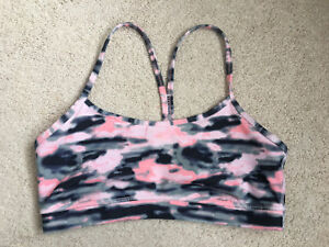 "Lululemon ""Power Y"" yoga bra (size 8)"