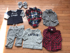 3-6 months fall winter boy clothes