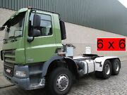 DAF CF 85. 460  voll Blatt Steel , Manual SZM