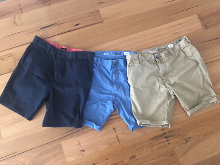 Rvca and industrie walk shorts