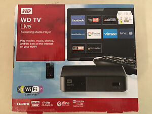 WD TV Live Streaming Media Player Lynton Mitcham Area Preview