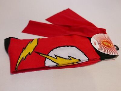 Cheap Red Capes (Men's red Flash crew socks with cape. New with)