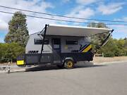 Family caravan family bunk camper enclosed box trailer motorbike Campbellfield Hume Area Preview
