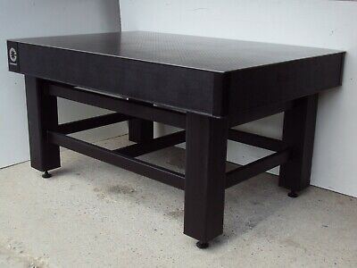 Crated Coherent Tmc Optical Table W Adjustable Rigid Leg Bench Breadboard