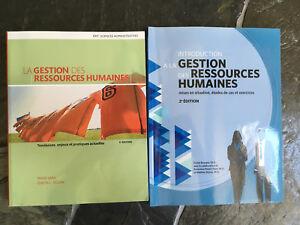 Livres ORH1600: La gestion des ressources humaines