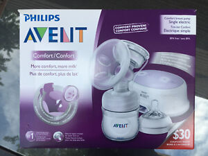 Lightly used Avent breast pump