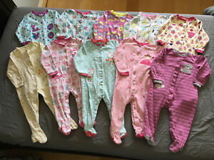 Girls pekkle sleepers size 18 month