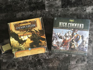 Warhammer Invasion + The corruption cycle exp & High Command new
