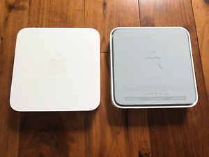 Two Apple AirPort Extreme 802.11n Bases