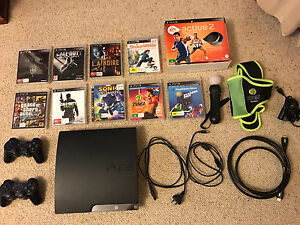 PS3 + 2 controllers + games Forest Hill Whitehorse Area Preview