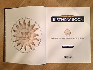 The Ultimate Birthday Book.