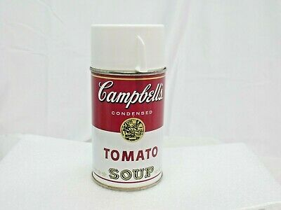 Vintage Alladin Thermos - 1968 - Campbell's Tomato Soup- Nice!!! Lunchbox size