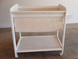Childcare white wooden bassinet / cradle / baby bed Mill Park Whittlesea Area Preview