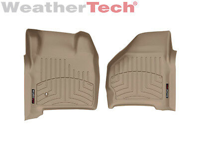 Weathertech Floor Mats Floorliner For Ford Excursion Super Duty   1St Row   Tan