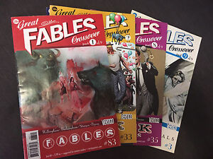 The Great Fables Crossover single issues