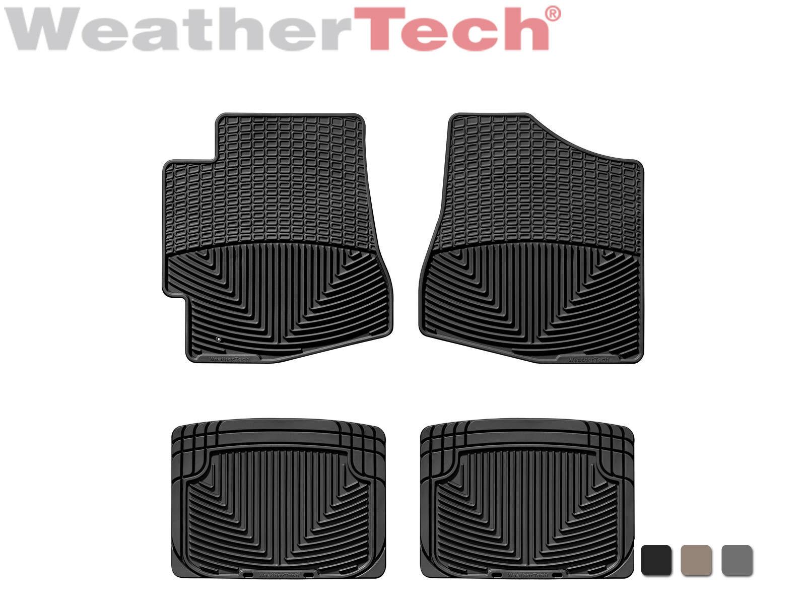 WeatherTech W34GR-W20GR Floor Mat Front//Rear Rubber