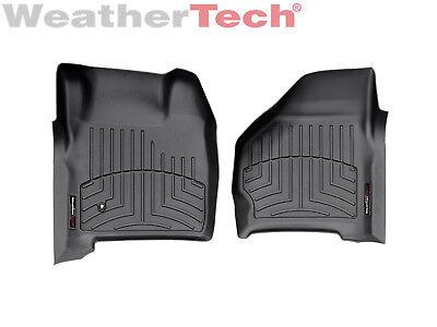 Weathertech Floor Mats Floorliner For Ford Excursion Super Duty   1St Row  Black
