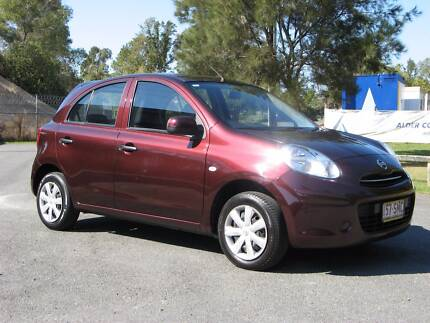 """""""CHEAP"""" AUTO, RWC, A/C 2012 Nissan Micra Hatchback Hope Island Gold Coast North Preview"""