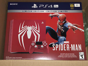 Limited Edition Marvel's Spider-Man PlayStation 4 Pro 1TB Bundle