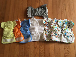 Thirsties all in one cloth diapers