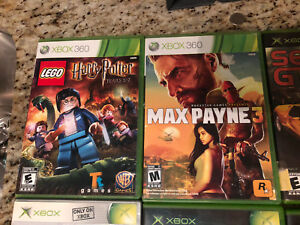Xbox 360 & Xbox games 70$ for all 7 Xbox games or 20$ each