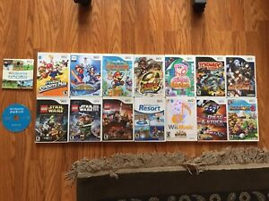 Wii Games including Mario titles!