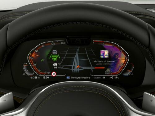 BMW G30 G11 G12 G14 X5 G15 X7 G07 LED Live Cockpit Instrument Cluster High