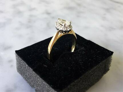 Pear Shaped Diamond Ring, with documentation. $4,900 Negotiable
