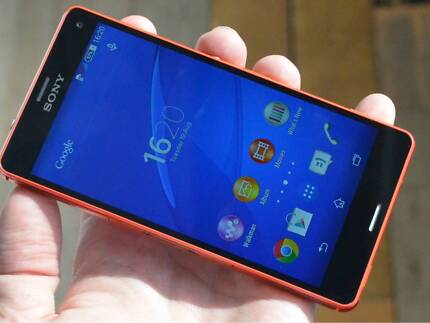 SONY XPERIA COMPACT C3/ ORANGE--NEW Wollongong 2500 Wollongong Area Preview