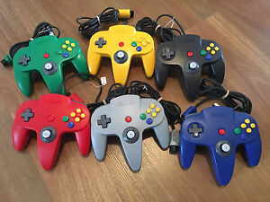 Original Nintendo 64 Controllers. Great genuine N64 Toggle 10/10 Kellyville The Hills District Preview